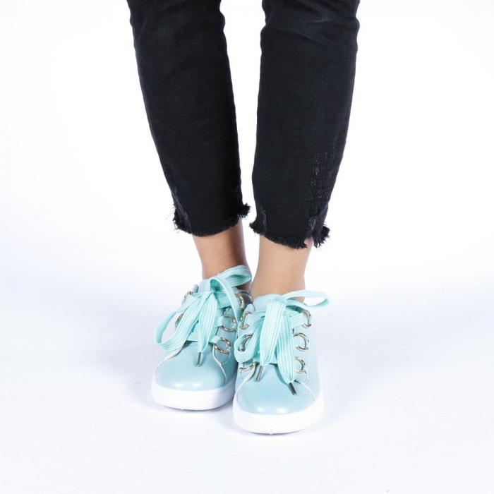 Pantofi sport dama Stefania albastri 3
