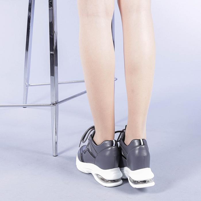 Pantofi sport dama Tameea gri 3