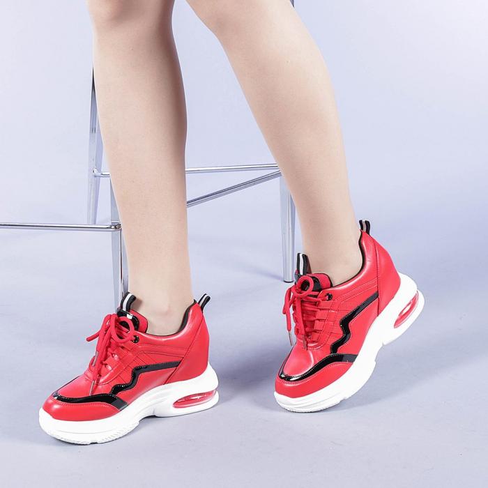 Pantofi sport dama Tameea rosii 2
