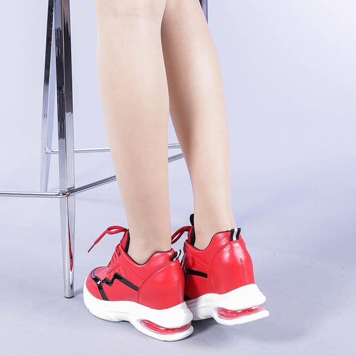 Pantofi sport dama Tameea rosii 3