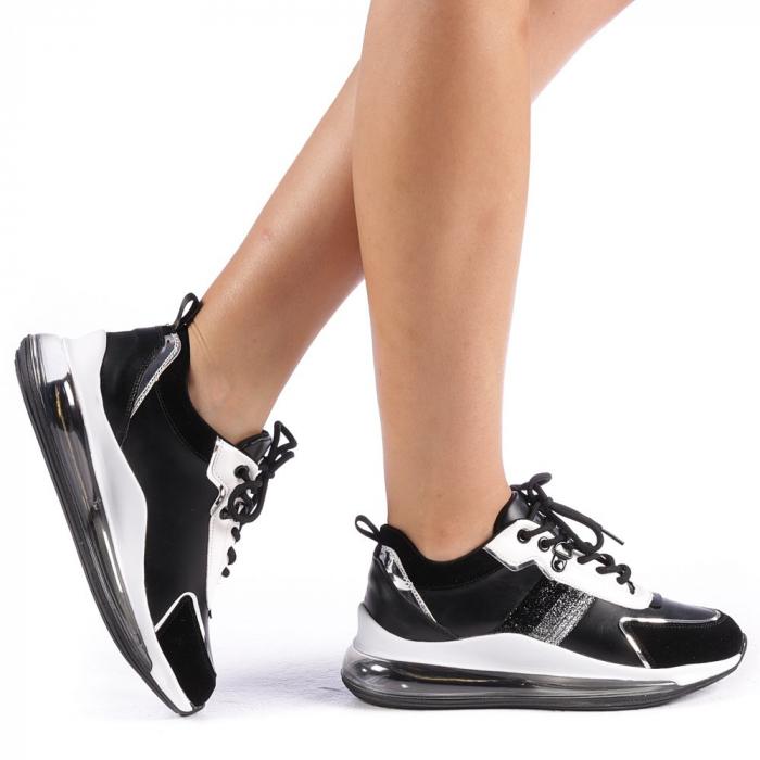 Pantofi sport dama Tamina negri 0