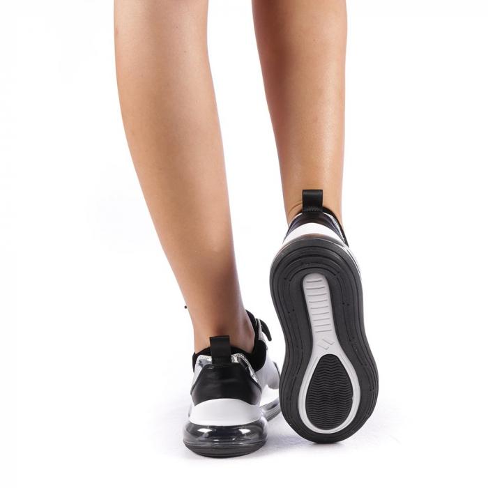 Pantofi sport dama Tamina negri 2