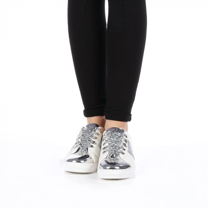 Pantofi sport dama Tarina albi 3