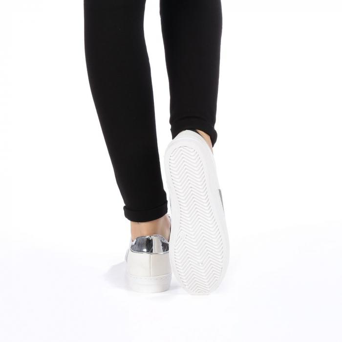 Pantofi sport dama Tarina albi 2