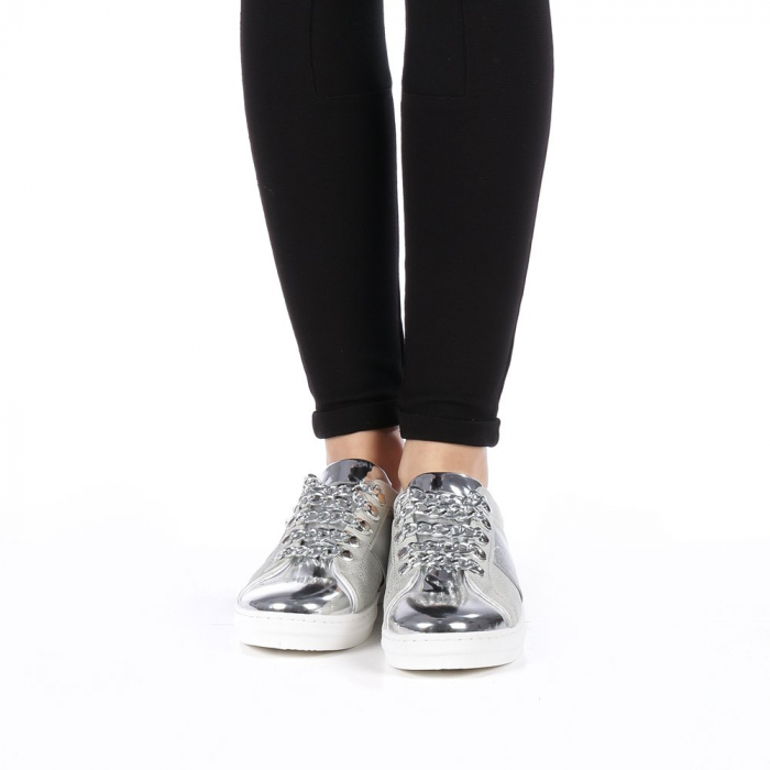 Pantofi sport dama Tarina gri 4