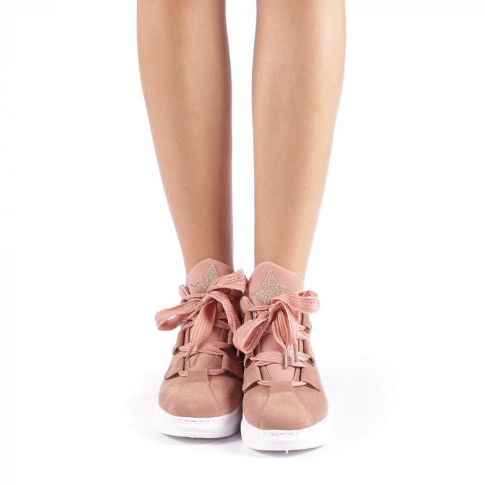 Pantofi sport dama Tasia roz 3