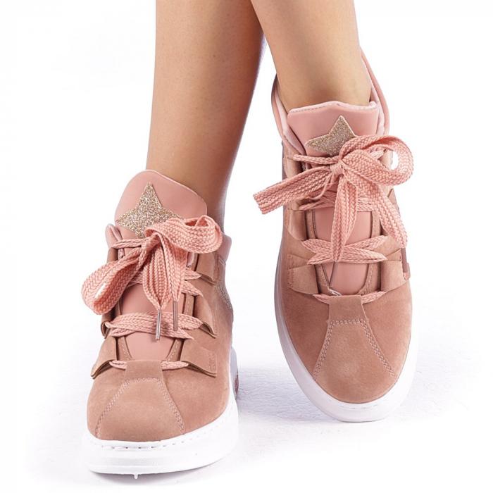 Pantofi sport dama Tasia roz 4