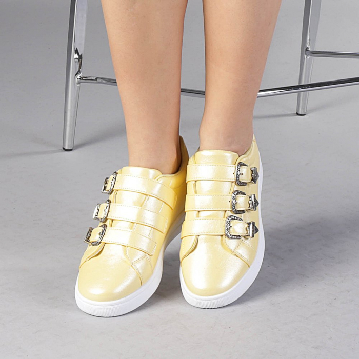 Pantofi sport dama Tess galbeni 0