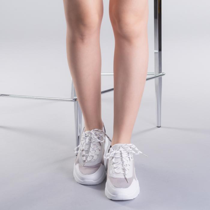 Pantofi sport dama Ylona gri 1