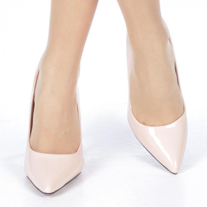 Pantofi stiletto Adelle roz 1