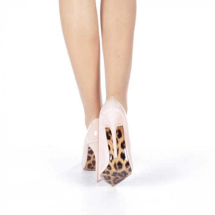 Pantofi stiletto Adelle roz 3