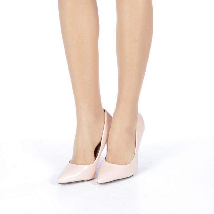 Pantofi stiletto Adelle roz 2