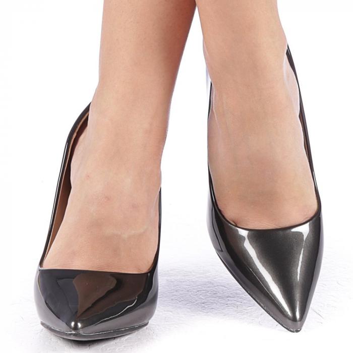 Pantofi stiletto Alicia negri 4