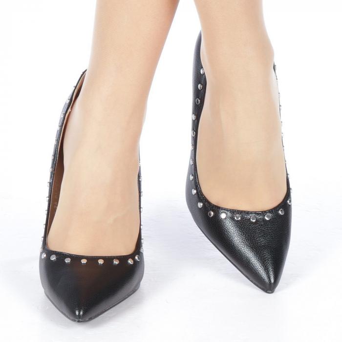 Pantofi stiletto Daiana negri 1