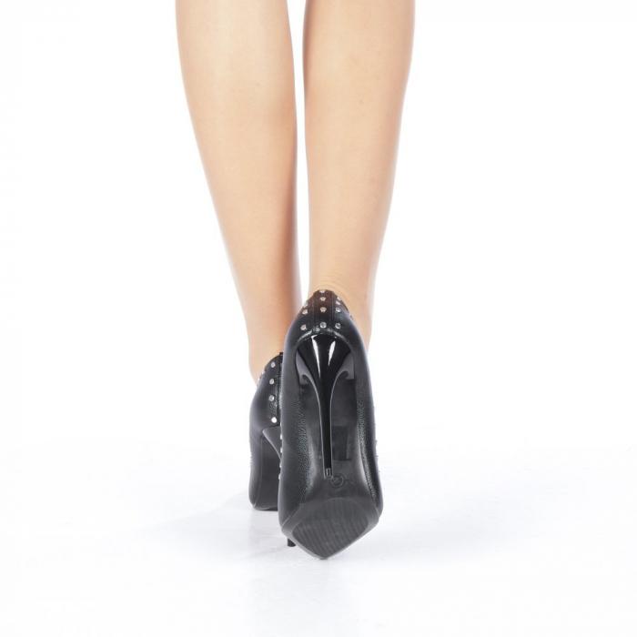 Pantofi stiletto Daiana negri 3