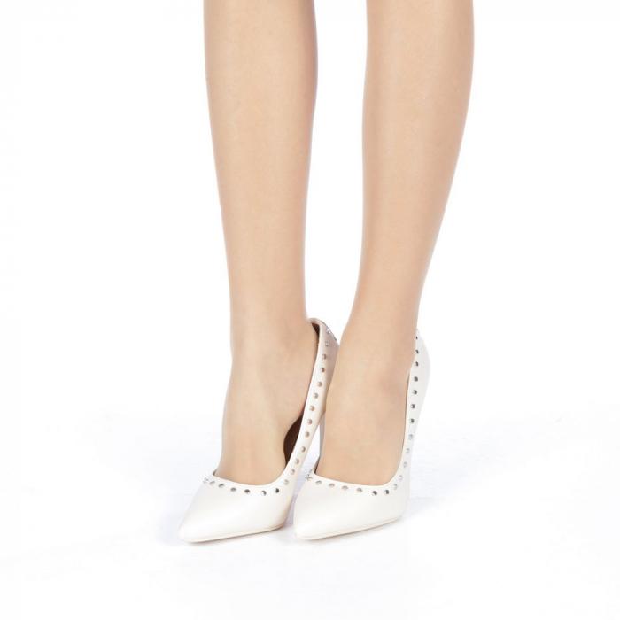 Pantofi stiletto Daiana nude 2
