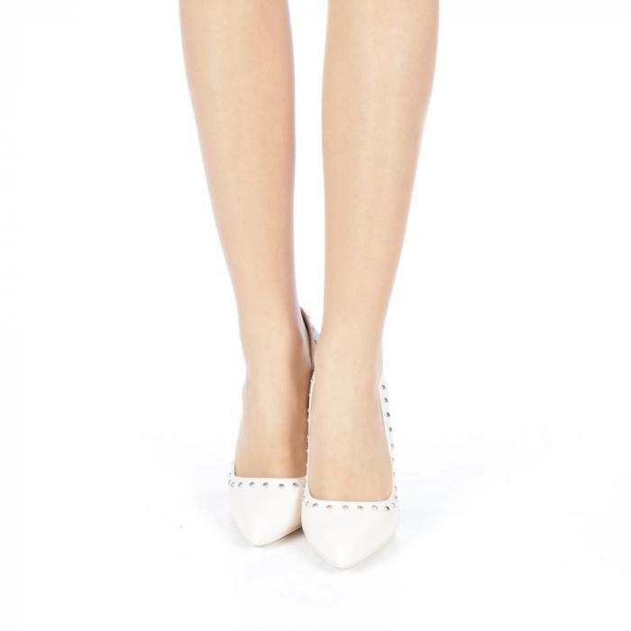 Pantofi stiletto Daiana nude 4