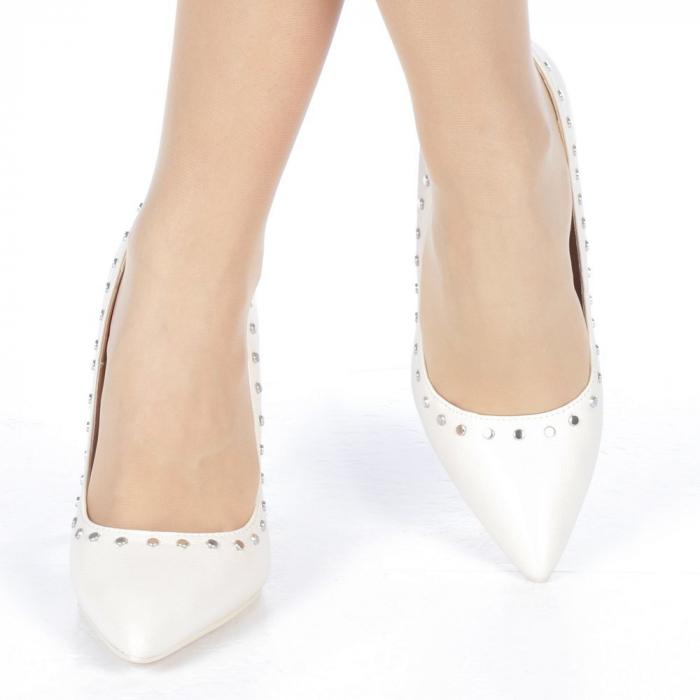Pantofi stiletto Daiana nude 1