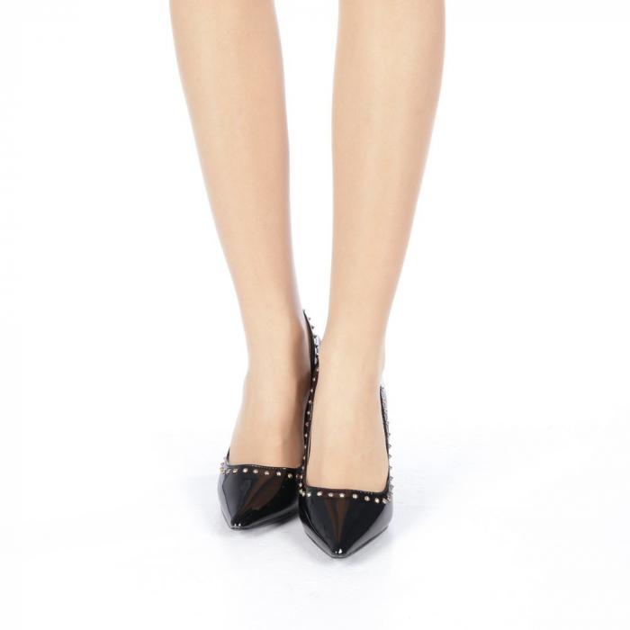 Pantofi stiletto Desiree negri 4