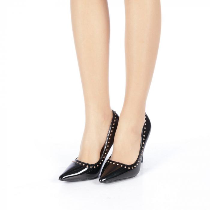 Pantofi stiletto Desiree negri 2