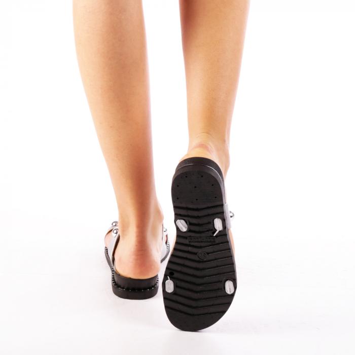 Papuci dama Agefia argintii 3