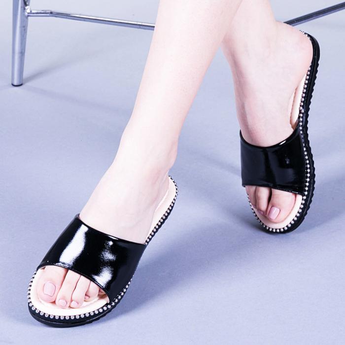 Papuci dama Agripina negri 0