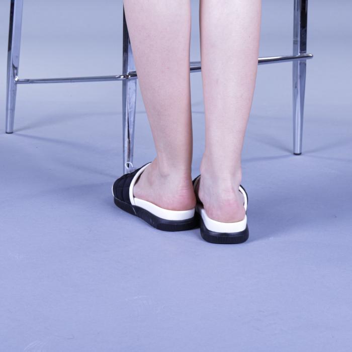 Papuci dama Corina negri 3