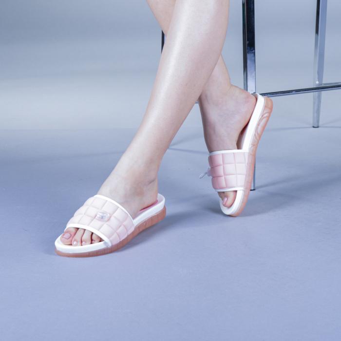 Papuci dama Corina roz 0