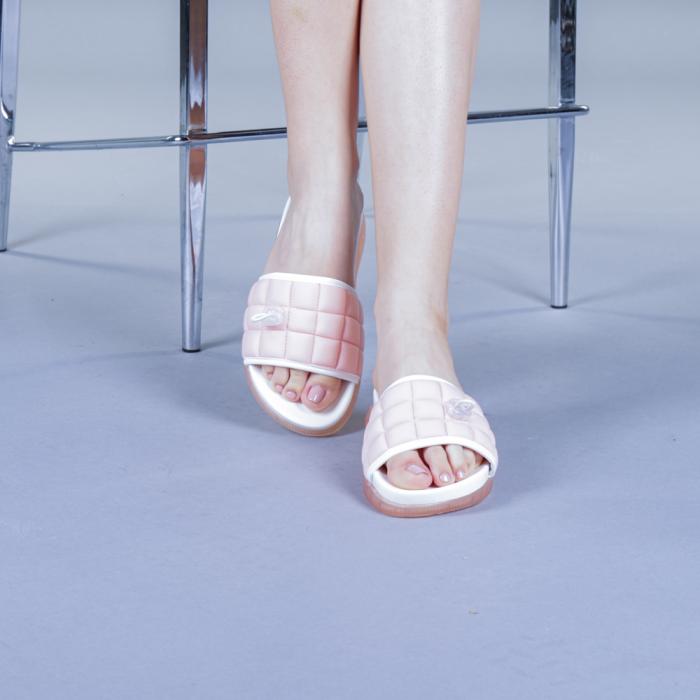 Papuci dama Corina roz 1