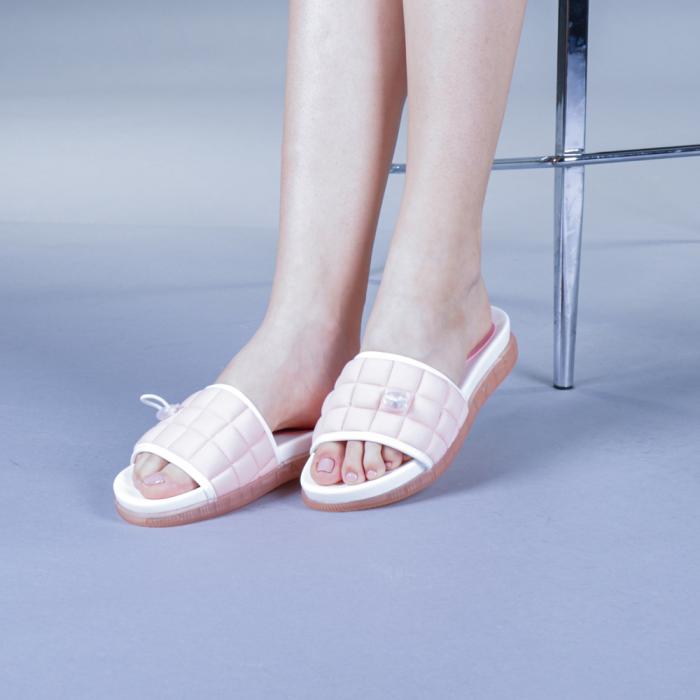 Papuci dama Corina roz 2
