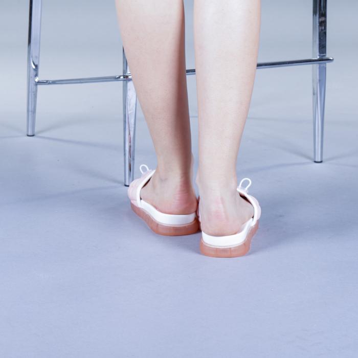 Papuci dama Corina roz 3