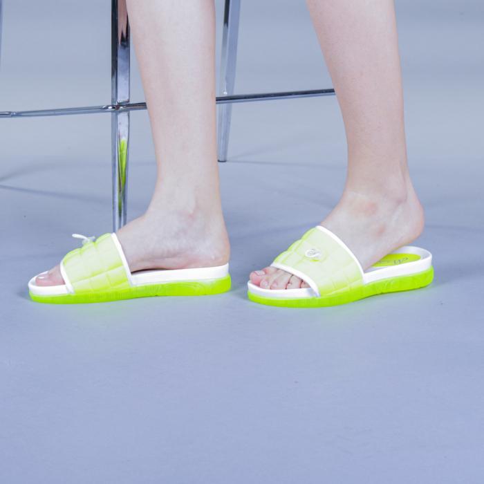 Papuci dama Corina verzi 0