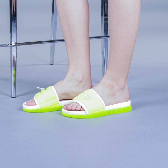 Papuci dama Corina verzi 2