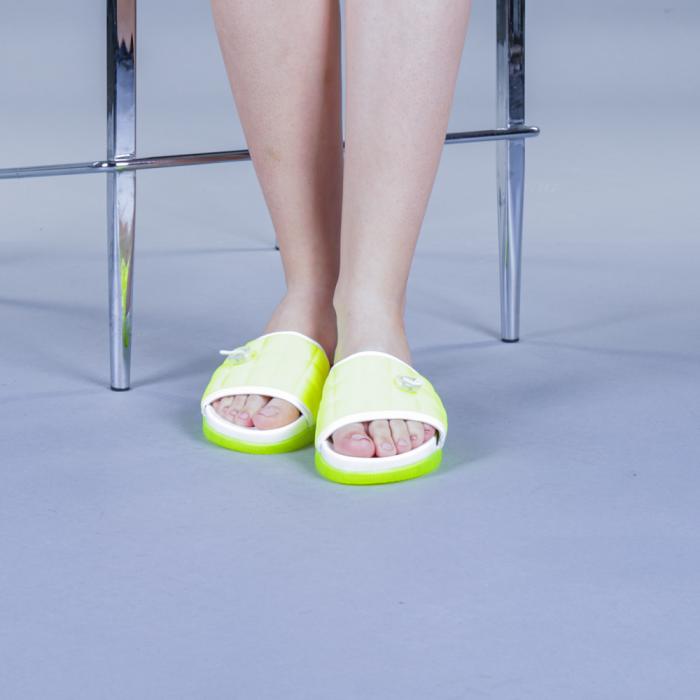 Papuci dama Corina verzi 1
