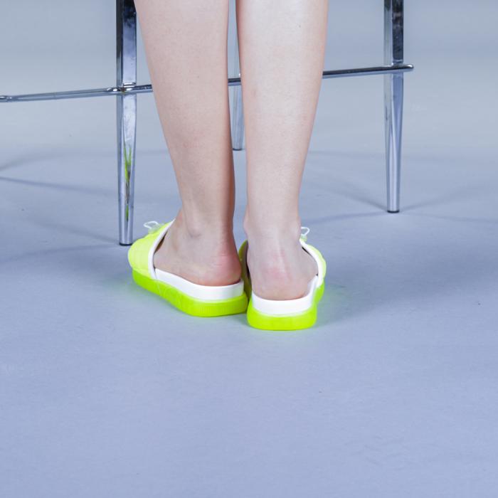 Papuci dama Corina verzi 3