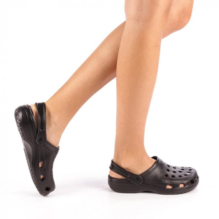 Papuci dama Edelline negri 0