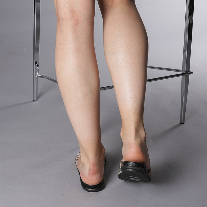 Papuci dama Kohn aurii 3