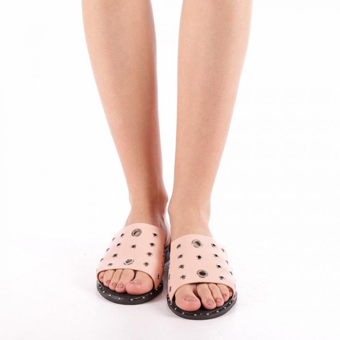 Papuci dama Laura roz 3
