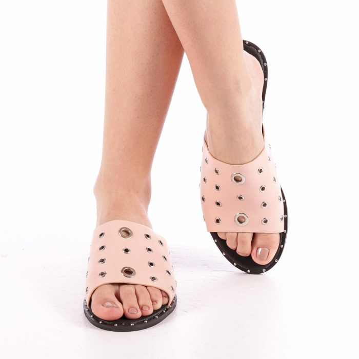 Papuci dama Laura roz 4