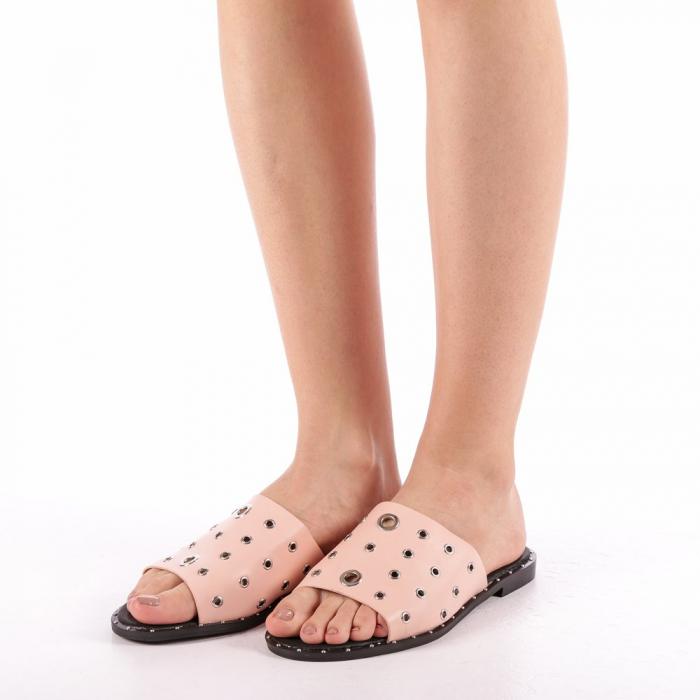 Papuci dama Laura roz 1