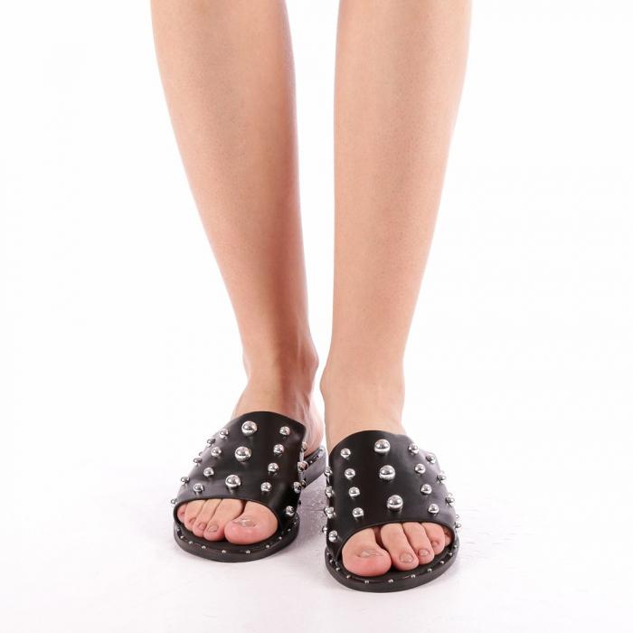 Papuci dama Lorena negri 3