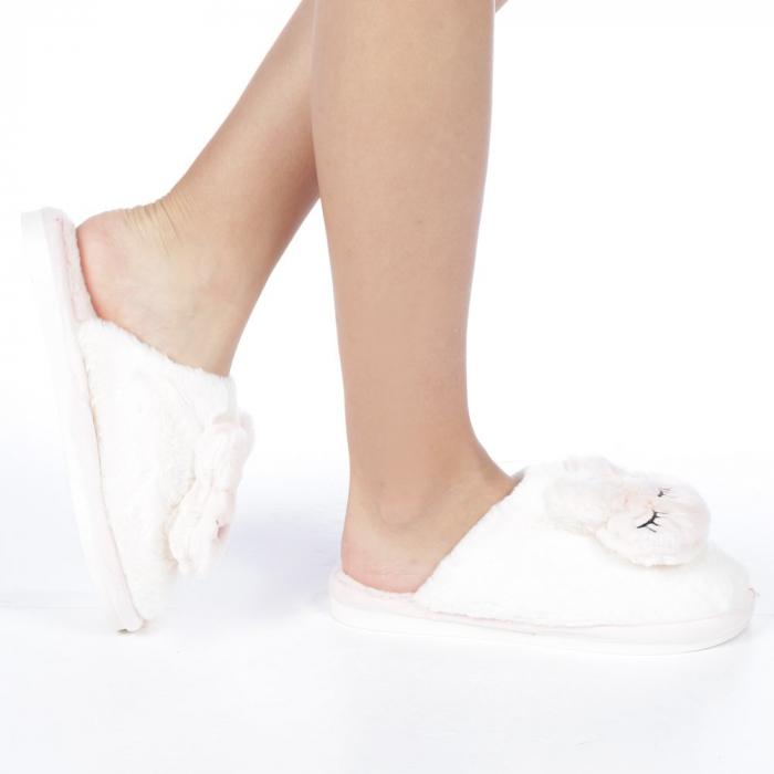 Papuci dama Midori roz deschis 0