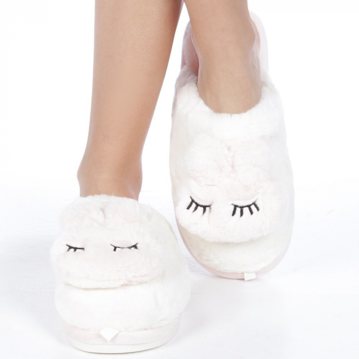 Papuci dama Midori roz deschis 1