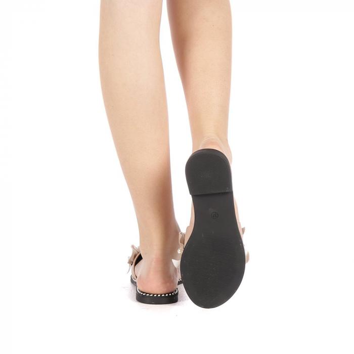 Papuci dama Milios bej 3