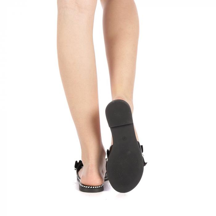 Papuci dama Milios negri 3