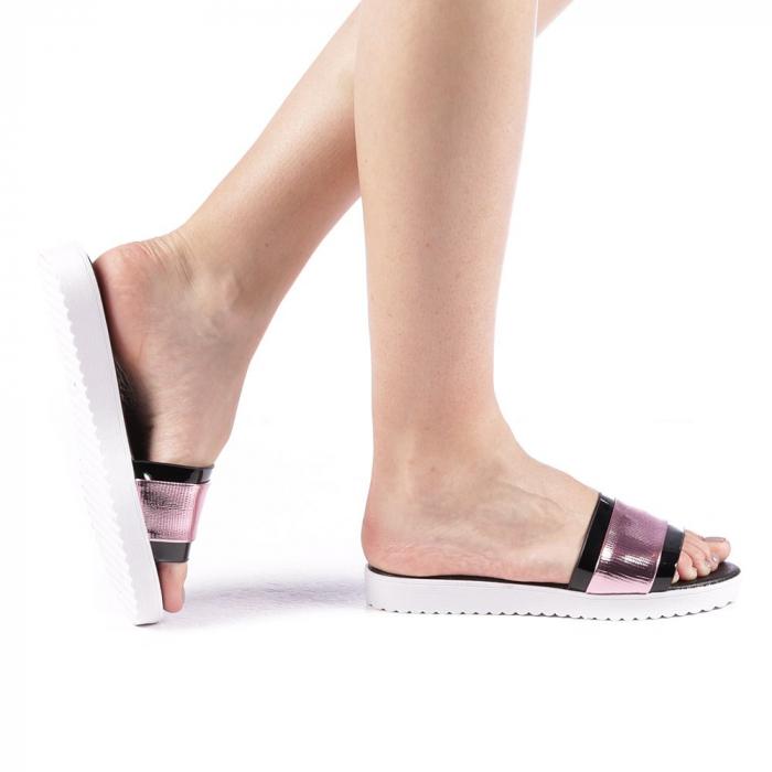 Papuci dama Minoda roz 0