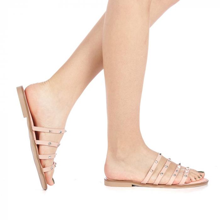 Papuci dama Mogana roz 0