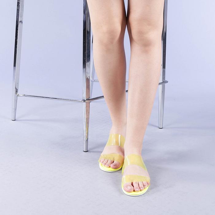 Papuci dama Morna galbeni 1