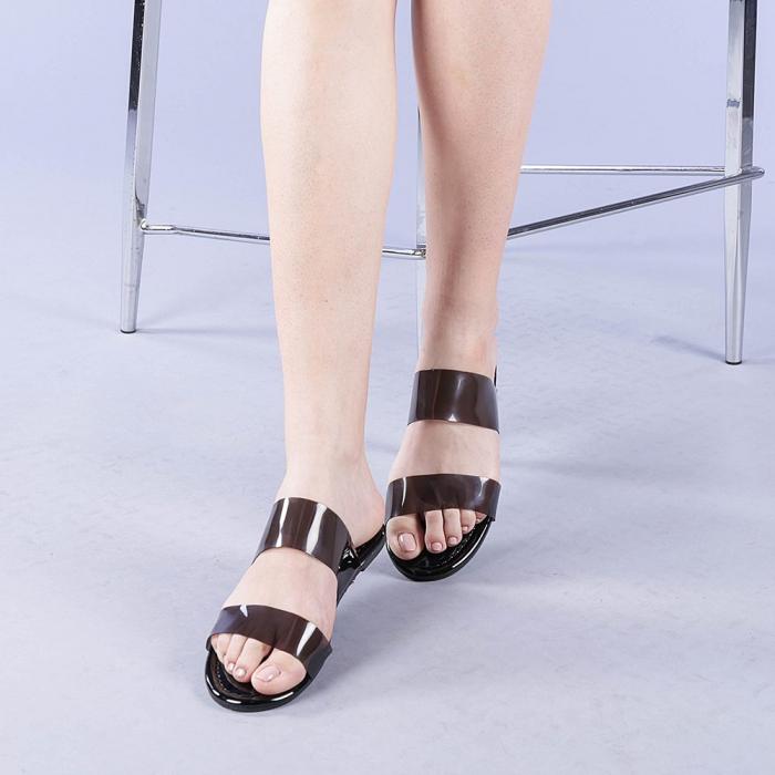 Papuci dama Morna negri 2