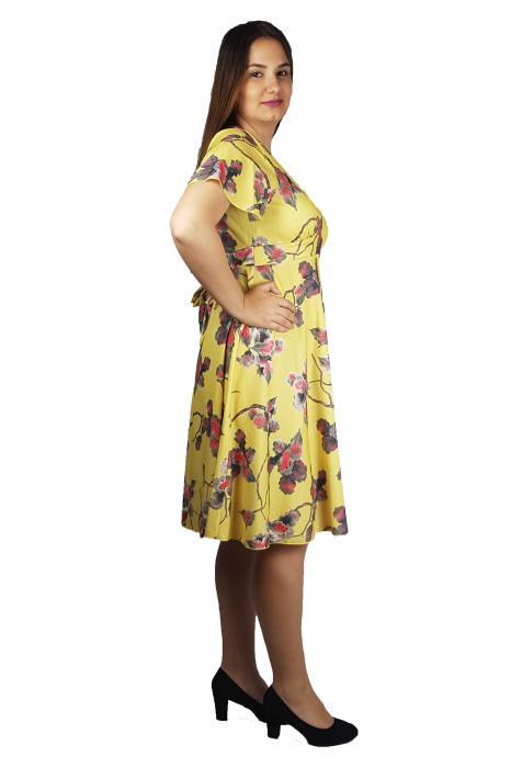 Rochie Alice cu imprimeu floral 2